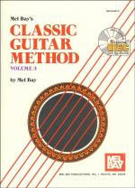 Classic Guitar Method Volume 3 Book/CD Set Sheet Music