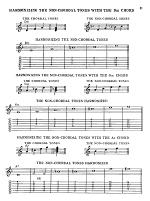 Guitar Melody Chord Playing System Sheet Music