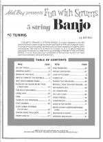 Fun with Strums - 5-String Banjo Sheet Music