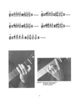 Left Hand Studies For Classical Guitar Sheet Music