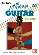 Anyone Can Play Guitar Volume 1 DVD Sheet Music