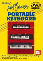 Anyone Can Play Portable Keyboard DVD Sheet Music
