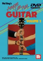 Anyone Can Play Guitar Volume 2 DVD Sheet Music