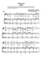 Songs That Made History Around The World Sheet Music