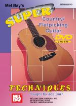 Super Country/Flatpicking Guitar Techniques DVD Sheet Music