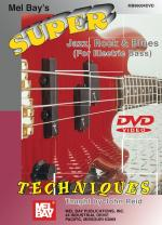 Super Jazz, Rock & Blues Techniques DVD (For Electric Bass) Sheet Music