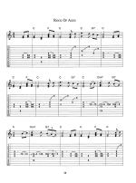 Gospel Pedal Steel Guitar Sheet Music