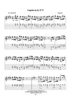 Paganini for Acoustic Guitar Sheet Music