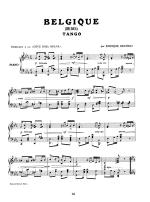 Argentinean Tangos for Keyboard Sheet Music
