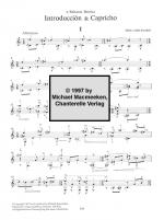 Abel Carlevaro: Introduccion Y Capricho Guitar Solo Sheet Music