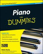 Piano for Dummies, Second Edition Book/CD Set Sheet Music