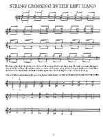 Guitar Technique through Repertoire Sheet Music