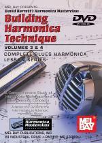 Building Harmonica Technique Volume 3 & 4 DVD Sheet Music