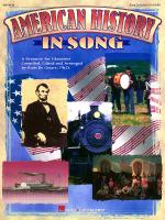 American History In Song (Folksong Collection) Sheet Music