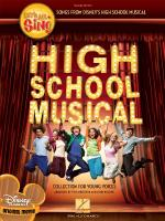 Let's All Sing Songs From Disney's High School Musical A Collection For Young Voices Sheet Music