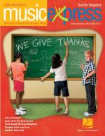 We Give Thanks Volume 9 Number 2 October/November 2008 Sheet Music