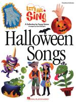 Let's All Sing Halloween Songs A Collection For Young Voices Sheet Music