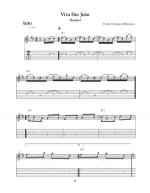 Brazilian Electric Guitar Sheet Music