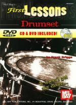 First Lessons Drumset Book/CD/DVD Set Sheet Music