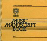 6 Stave Music Manuscript Book - MERCHANDISE Sheet Music