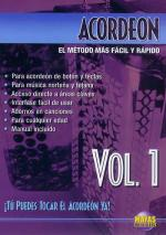 Acordeon Vol. 1, Spanish Only DVD (You Can Play The Accordion Now Vol. 1) Sheet Music