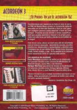Acordeon Vol. 3, Spanish Only DVD (You Can Play the Accordion Now! Volume 3) Sheet Music