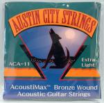 Austin City Strings: Acoustic Guitar Extra Light Bronze Sheet Music