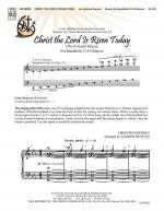 Christ The Lord Is Risen Today The Friendly Beasts Sheet Music