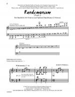 Pandemonium Psalm 2 Sheet Music