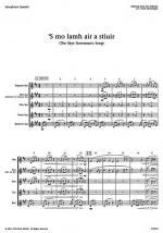 s Mo Lamh Air A Stiuir Sheet Music Sheet Music