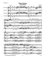 Three Essays Sheet Music Sheet Music