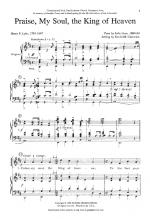 Praise My Soul, The King Of Heaven Sheet Music Sheet Music