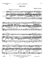 Melodie - SOLO PART Sheet Music