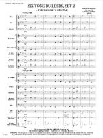 Six Tone Builders, Set 2 (Score Only) Sheet Music
