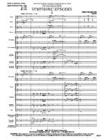 Symphonic Episodes (Score and Complete Set of Parts) Sheet Music