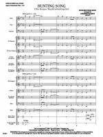 Hunting Song (The Keeper Would A-Hunting Go) (Score and Complete Set of Parts) Sheet Music