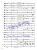 The Angels Mix (Score and Complete Set of Parts) Sheet Music