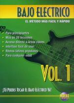 Bajo Electrico Vol. 1, Spanish Only DVD (You Can Play The Electric Bass Now Vol. 1) Sheet Music