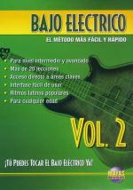 Bajo Electrico Vol. 2, Spanish Only DVD (You Can Play The Electric Bass Vol. 2) Sheet Music