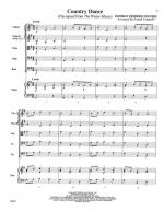 Country Dance - FULL SCORE - LARGE Sheet Music