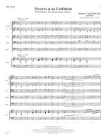 Pictures At An Exhibition - FULL SCORE - LARGE Sheet Music
