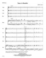 Tune-A-Rumble - FULL SCORE - LARGE Sheet Music