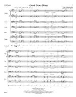 Good News Blues - FULL SCORE - LARGE Sheet Music