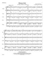 Hotaru Koi - (Come, Firefly, Come) FULL SCORE - LARGE Sheet Music