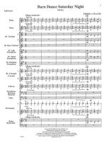 Barn Dance Saturday Night - FULL SCORE - LARGE Sheet Music