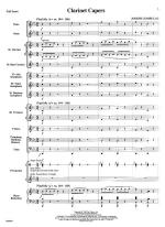 1. Clarinet Capers And 2. Flam, Snap, Twinkle And Boom - FULL SCORE - LARGE Sheet Music