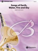 Songs Of Earth, Water, Fire And Sky - Conductor Score & Parts Sheet Music