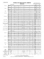 Nobles of the Mystic Shrine (March) - Conductor Score & Parts Sheet Music
