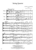String Quartet - FULL SCORE - LARGE Sheet Music