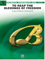 To Reap the Blessings of Freedom (A Medley of Hymns of the United States Armed Forces) - Conductor S Sheet Music